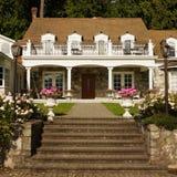 Vintage Inn Home House Stock Image