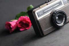 Vintage instamatic Camera Royalty Free Stock Images