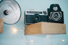 Vintage Instamatic camera Royalty Free Stock Photography