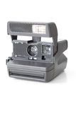 Vintage instant camera Royalty Free Stock Photos
