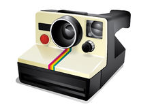 Vintage instant camera Royalty Free Stock Image
