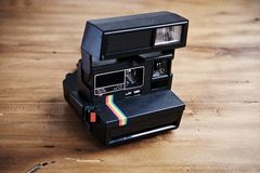 Vintage instant camera Stock Photography