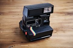 Vintage instant camera Royalty Free Stock Photo