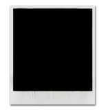 Vintage instant photo frame. S on white background Royalty Free Stock Images