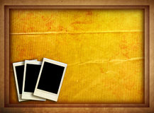 Vintage instant photo Royalty Free Stock Photography