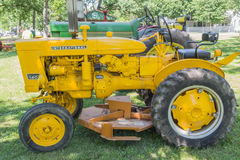 Vintage International 140 Farm Tractor Royalty Free Stock Photos