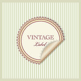 Vintage invitation Stock Photos