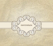 Vintage Invitation Royalty Free Stock Photos