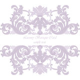 Vintage Invitation Card or banner Royalty Free Stock Image