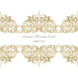 Vintage Invitation Card or banner with ornaments Royalty Free Stock Images