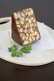 Vintage Irish Cheddar with porter Royalty Free Stock Photography