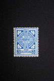 Vintage Irish stamp Stock Photo