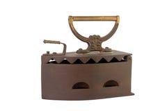 Vintage iron. Isolated on white background Stock Image