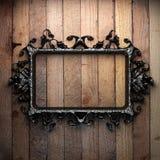 Vintage iron frame Stock Images