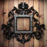 Vintage iron frame Stock Photography