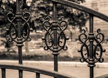 Vintage iron gate Royalty Free Stock Photos