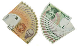 Vintage israeli money Royalty Free Stock Photos