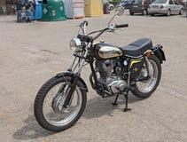 Vintage Italian bike Ducati 450 Scrambler Stock Images