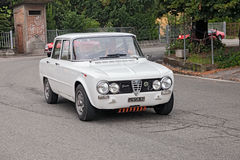 Vintage Italian car Alfa romeo Giulia Stock Photography