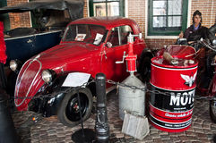 Vintage Italian car Fiat 500 Topolino Stock Images