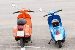 Vintage Italian Motorcycle Stock Image