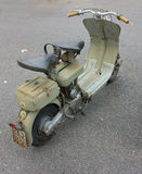 Vintage italian scooter Stock Image