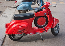 Vintage italian scooter Royalty Free Stock Photo
