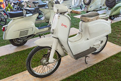 Vintage italian scooter Agrati Como Royalty Free Stock Photos