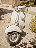 Vintage Italian scooter Stock Photography