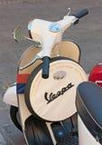 Vintage italian scooter Stock Photos