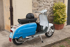 Vintage italian scooter Lambretta Stock Photos
