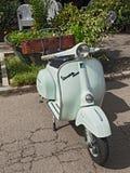 Vintage italian scooter Vespa Stock Image