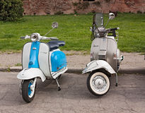 Vintage italian scooters Stock Photos