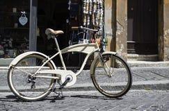 Vintage italian style bicycle Stock Image