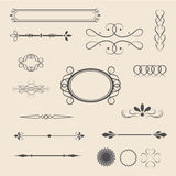 Vintage items- vector Stock Image