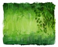 Vintage ivy texture Stock Image