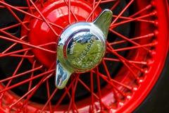 Vintage Jaguar Automobile Royalty Free Stock Image