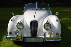 Vintage Jaguar car Royalty Free Stock Image