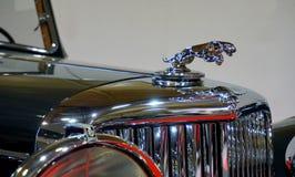 Vintage Jaguar sign Stock Image