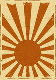 Vintage Japan Flag Background Royalty Free Stock Image