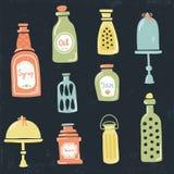Vintage jars Royalty Free Stock Photos