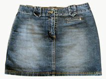 Vintage Jean Skirt Royalty Free Stock Photography