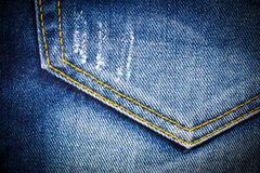 Vintage Jeans pocket Royalty Free Stock Image