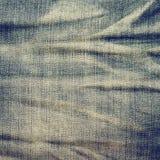 Vintage jeans texture, background. Stock Photos