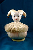 Vintage jester music box. A delightful view of the vintage jester music box Stock Photos