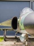 Vintage jet fighter Stock Image