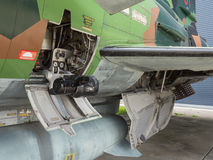 Vintage jet fighter Royalty Free Stock Photo