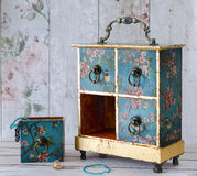 Vintage Jewellery Box Royalty Free Stock Image