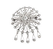 Vintage jewellery brooch Royalty Free Stock Photo