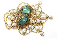 Vintage jewelry royalty free stock photos